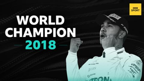 Lewis Hamilton crowned Formula One world champion for the fifth time