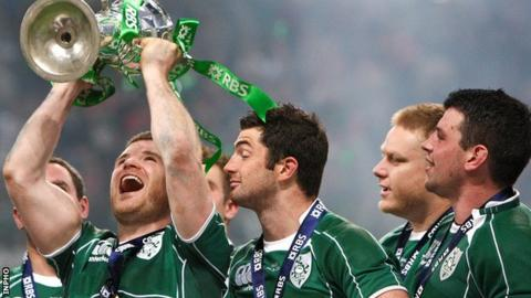 Ireland retained the Six Nations Championship in March 2015