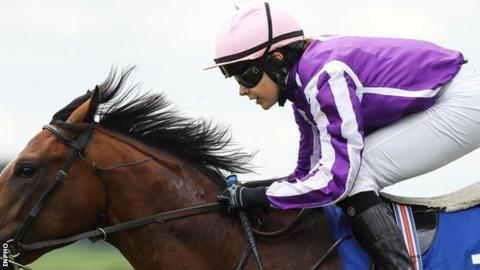 Ana O'Brien rode for her father Aidan in this year's English and Irish Derbys