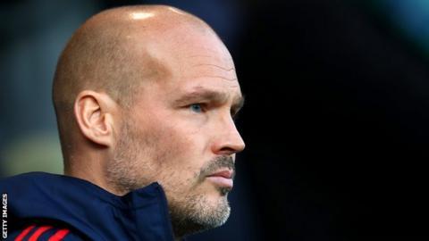 Arsenal interim head coach Freddie Ljunberg
