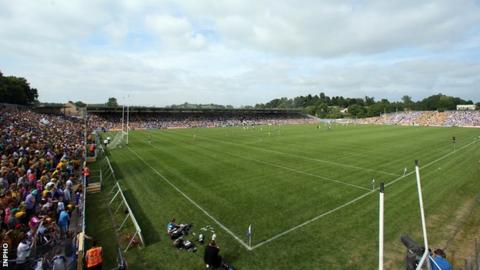 Clones will stage the contest between Donegal and Tyrone for the Anglo-Celt Cup