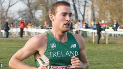 Stephen Scullion set his previous marathon best of 2:17.59 at last year's London Marathon