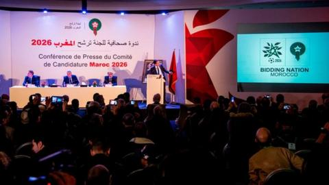 Morocco launches 2026 World Cup campaign