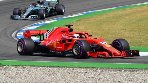 Vettel Bottas