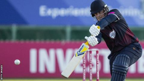 Richard Levi in action for Northants