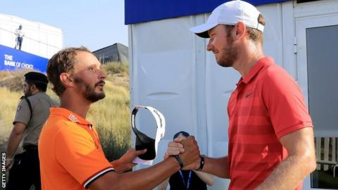 Joost Luiten gets better of Chris Wood to win NBO Oman Open