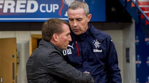 Brendan Rodgers and David Weir