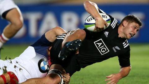 Dalton Papalii in action for New Zealand Under-20s