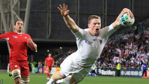 Chris Ashton has won 39 caps for his country
