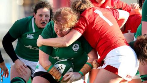 Leah Lyons is in her second season with the Ireland squad