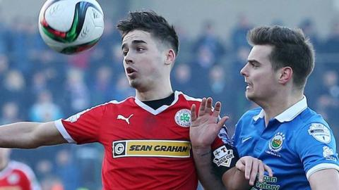 Linfield beat Cliftonville 3-0 in the Irish Cup quarter-finals
