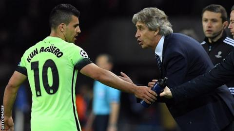 Aguero and Pellegrini