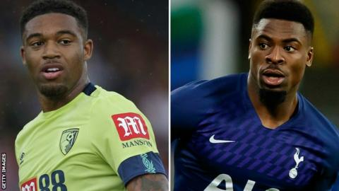 Jordon Ibe and Serge Aurier