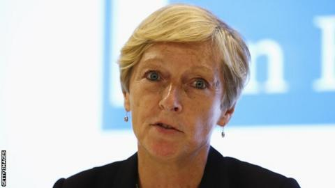 UK Sport chief exec Liz Nicholl