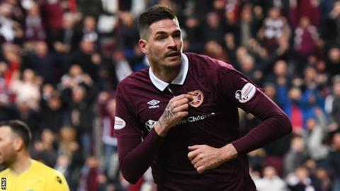 Kyle Lafferty holds talks with Hearts chiefs amid Rangers interest