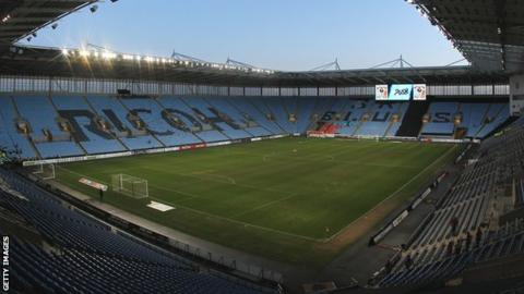 Coventry City moved to the Ricoh Arena at the start of the 2005-06 campaign