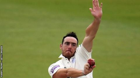 Fast bowler Kyle Abbott has now taken 159 first-class wickets for Hampshire - more than for any other team in his career haul of 382 victims