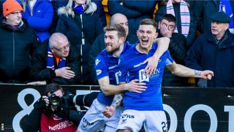 St Johnstone gave Rangers three sides of McDiarmid Park for Sunday's draw