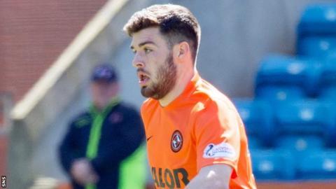 Dundee United and Montrose midfielder Cammy Ballantyne