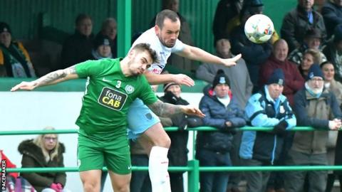 County Antrim Shield: Dundela can beat Ballymena United says Gourley