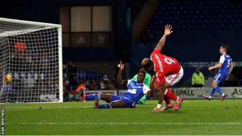 Britt Assombalonga goal
