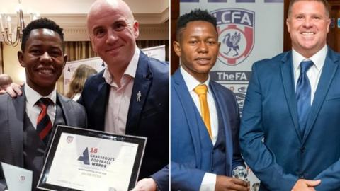 Jacob Grassroots referee of the year