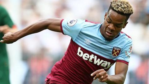 West Ham United midfielder Grady Diangana was born in the Democratic Republic of Congo