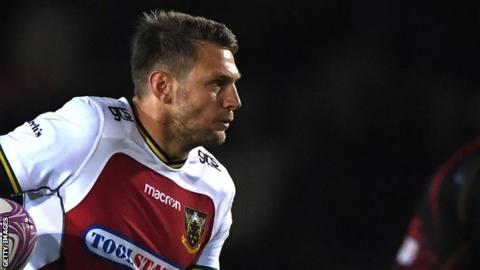 Dan Biggar has scored 102 points in 12 games for Northampton Saints since joining the club