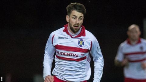 Stirling Albion forward Darren Smith