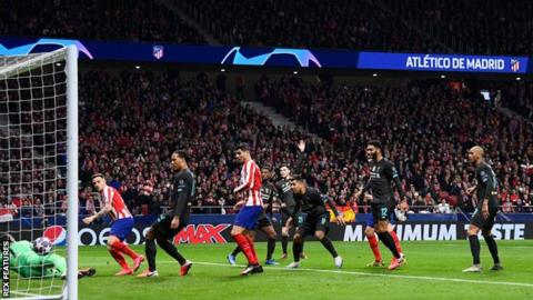 Liverpool undone by Atletico Madrid's Saul strike thumbnail