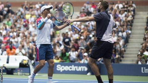 Jack Sock and Mike Bryan