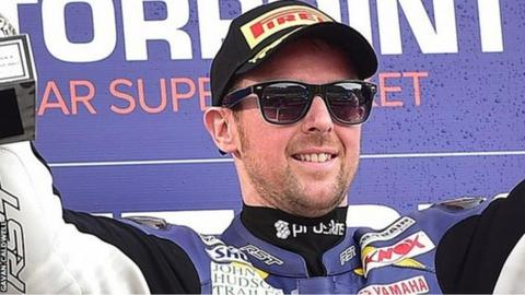 Alastair Seeley won the British Supersport title in 2011