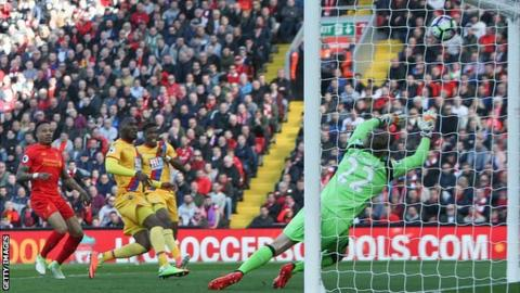 Liverpool dig deep to see off Palace in Anfield goalfest