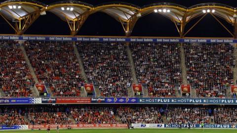 Carrara Stadium on the Gold Coast