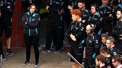 Claire Williams F1
