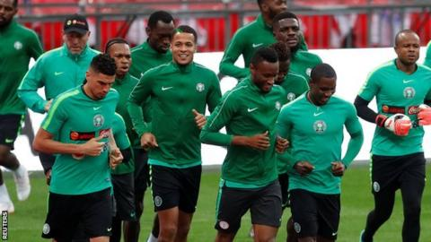 Iwobi's second-half goal not enough as Super Eagles lose friendly
