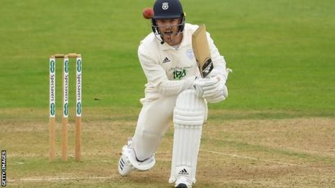 Lewis McManus played in seven of Hampshire's County Championship matches lat season, sharing wicketkeeping duties with Tom Alsop