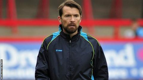 Matt Gardiner was promoted to be joint-manager at Worcester City with Carl Heeley this season