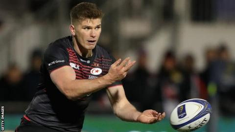 Owen Farrell is fit to start Saracens' Champions Cup clash vs. Leinster
