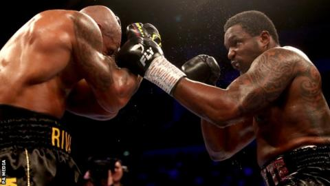 British boxer Whyte 'disappointed' by comments after reported drugs positive