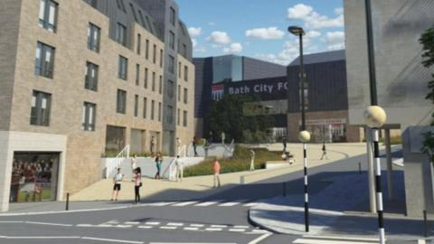 Bath City FC Twerton proposals