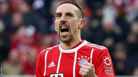 Image result for munchen vs dortmund Franck Ribery