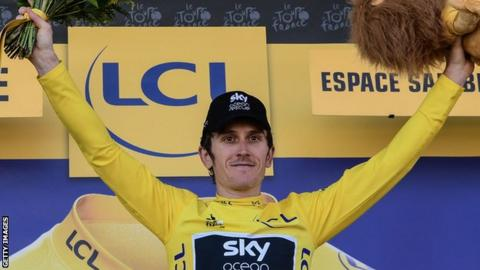 934af304f It was Geraint Thomas  second Tour de France stage win after he clinched  last year s curtain-raising time trial