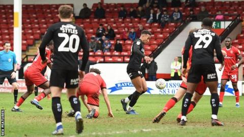Jacob Brown was back in the Barnsley team after competing a three-match ban
