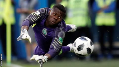 1350843cd 2019 AFCON Qualifier  Injury forces Francis Uzoho to withdraw from Nigeria  squad