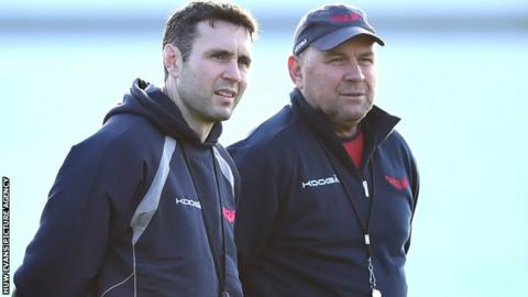 Stephen Jones and Wayne Pivac