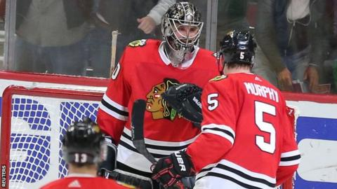 Scott Foster Accountant Makes Nhl Debut In Goal For Chicago