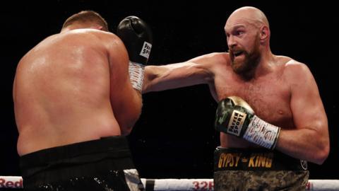 Tyson Fury v Francesco Pianeta