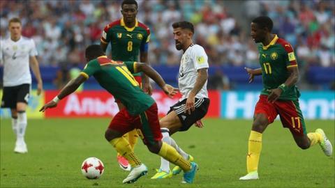 Cameroon v Germany