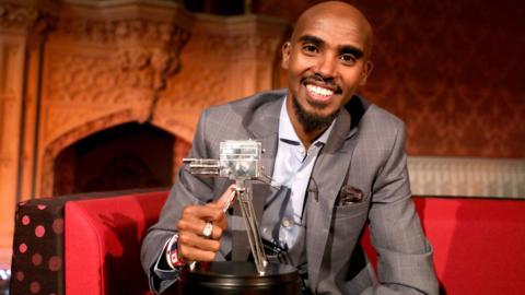 Sports Personality winner Mo Farah